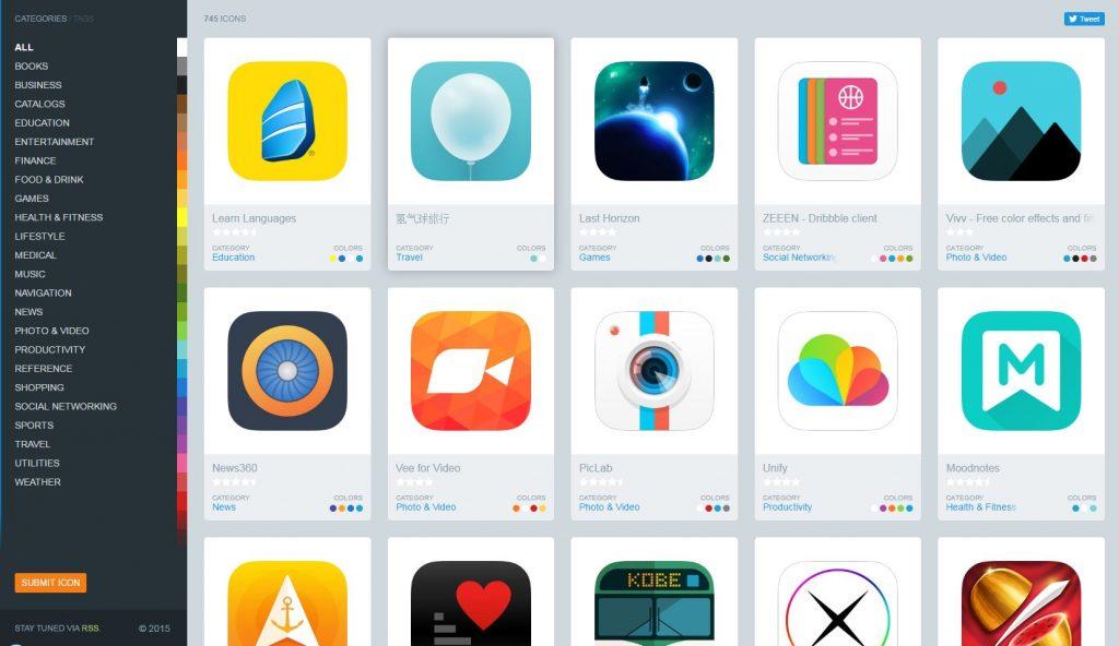 Скриншот сайта Iconsfeed.com