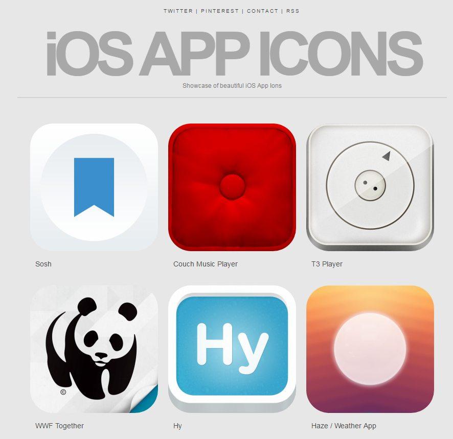 iOS App Icons на Tumblr