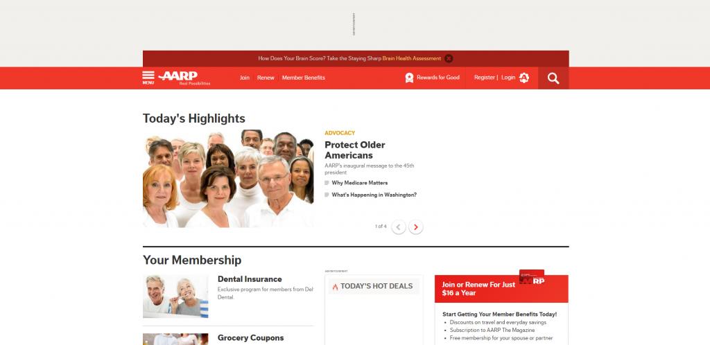 Пример платного сообщества http://www.aarp.org/