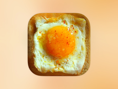 https://dribbble.com/shots/2340197-App-Icon-Egg-Bread