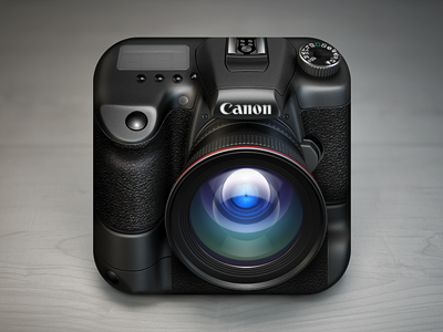 http://dribbble.com/shots/349320-Camera-iOS-Icon