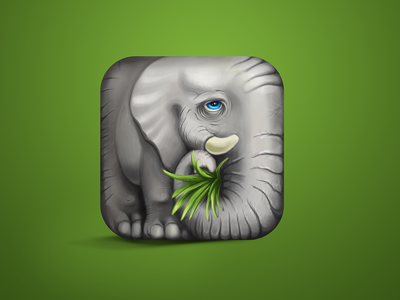 https://dribbble.com/shots/832341-Elephant