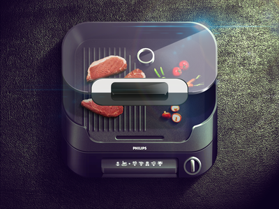 https://dribbble.com/shots/998568-Grill-iOS-Icon