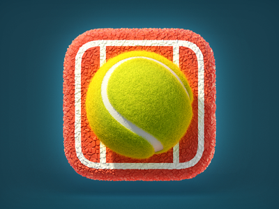 https://dribbble.com/shots/1558373-Tennis-Ball-Icon