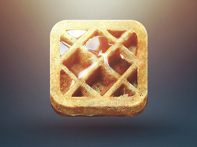 https://dribbble.com/shots/824210-waffle-iphone-icon
