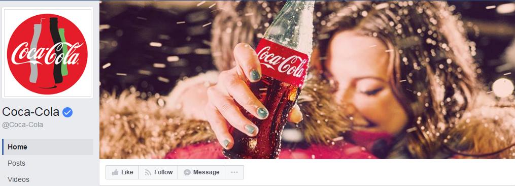 На этом фото мы видим не только продукт Coca-cola, а эмоции, которые испытывает героиня на обложке. Кроме того, фотография актуальна ко времени года. На момент написания статьи был февраль.