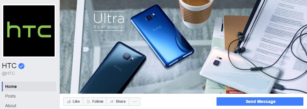 """Больше 6 млн. отметок """"Нравится"""" и 2,7 тыс лайков новой обложки бизнес-страницы HTC меньше чем за месяц"""
