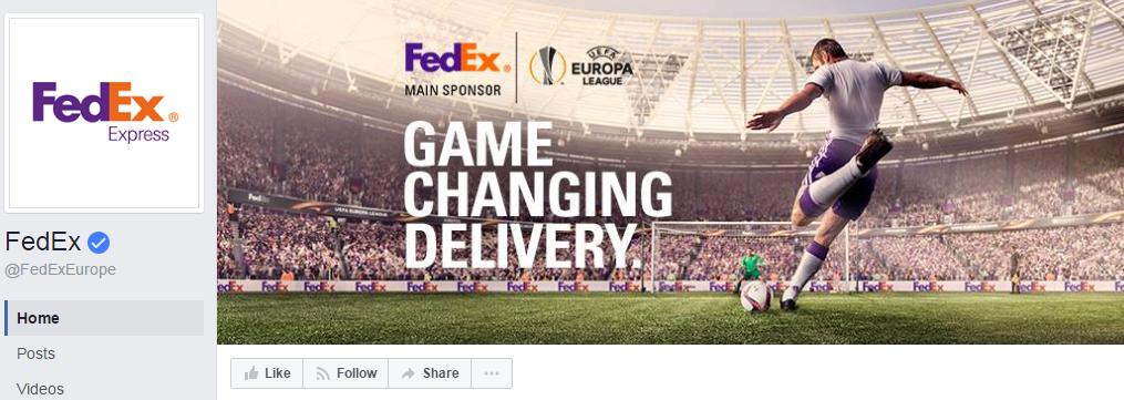 1,9 млн. подписчиков у страницы FedExEurope