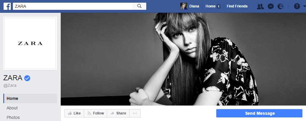 24,7 млн. подписчиков у страницы этого бренда в фейсбук