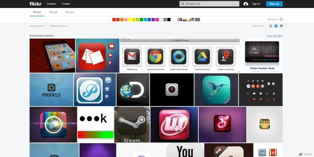 Search result for «iOS App Icons» on Flickr