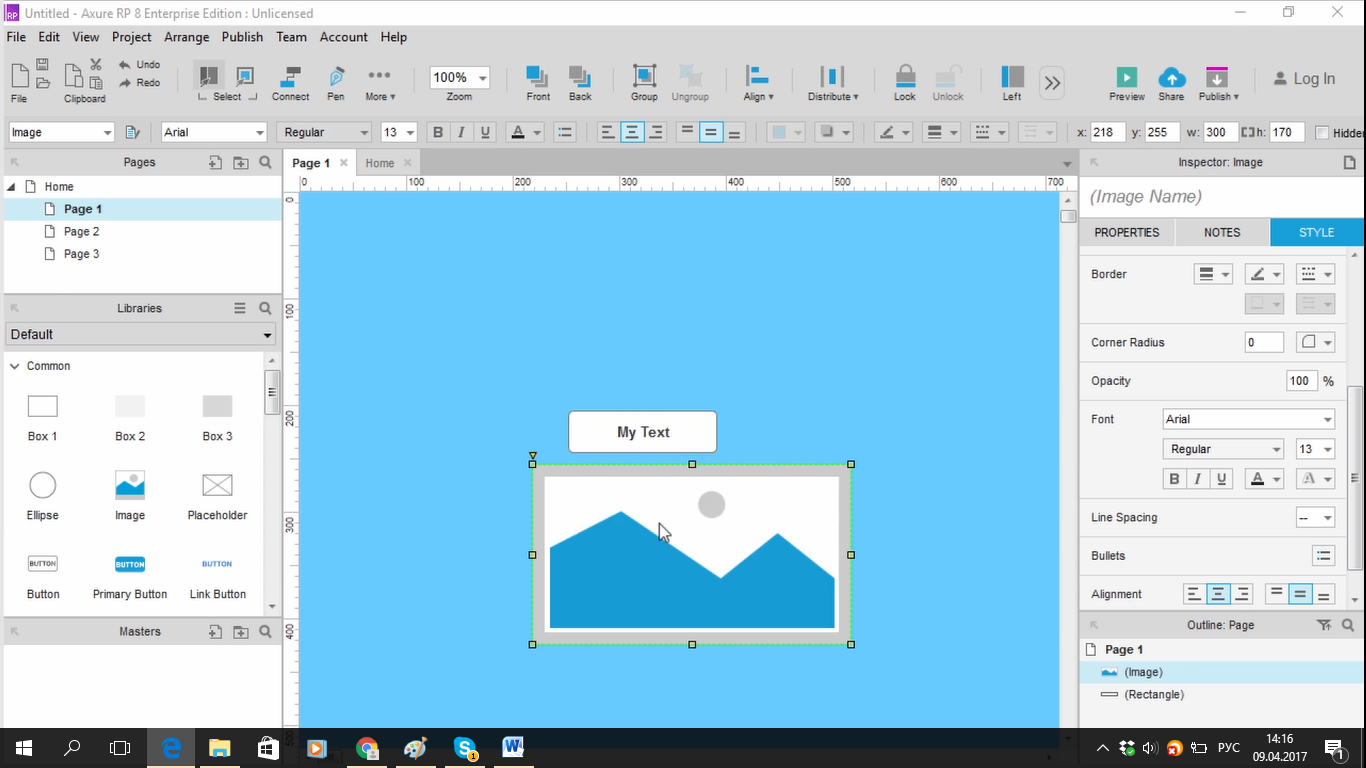 Разработка прототипа в Axure: максимум возможностей для дизайнера