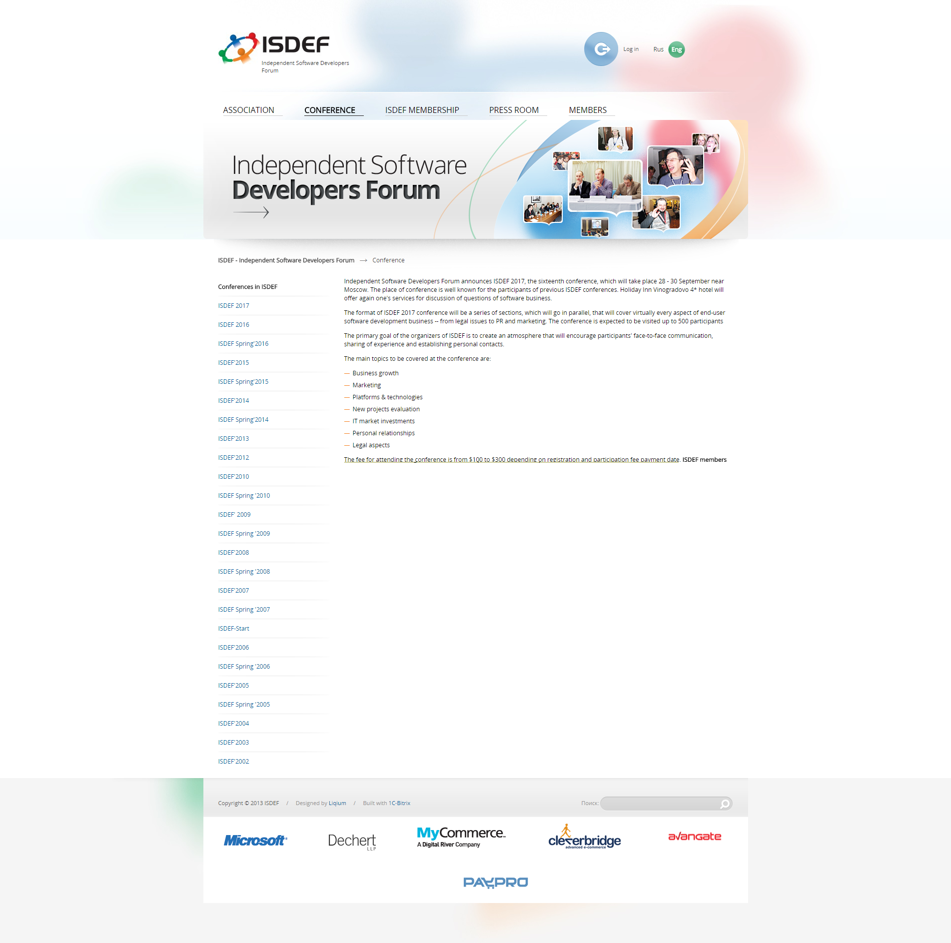 how to create a landing page that increases sales the isdef case study