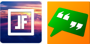 The first icon generated fewer downloads; the second one was tested on a similar app with quotes, but it did not meet expectations either