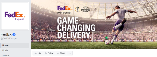 1.9 million subscribers follow the FedEx Europe page