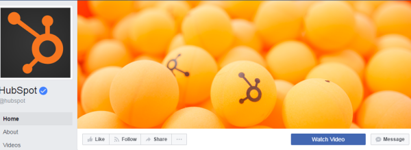More than 1.3 million subscribers follow the HubSpot page