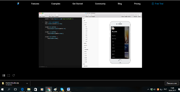 Framer: Prototyping in code