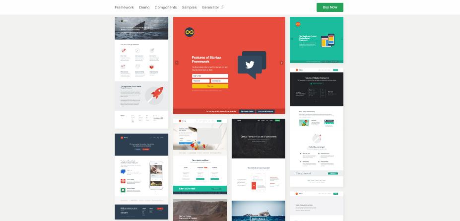 Framework Startups templates
