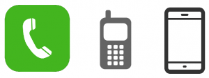Evolution of phone call icons